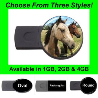 Horse Design #32   USB Flash Memory Drive (Stick/Thumb/Pen)   FD1392