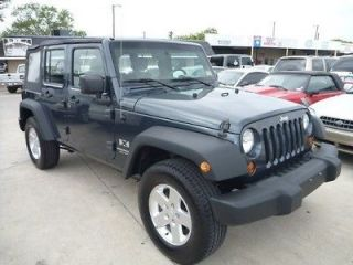 Jeep  Wrangler Unlimited X Sport Utility 4 Door 2007 Jeep Wrangler X