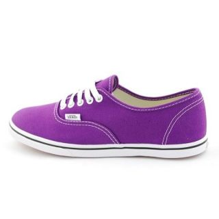VANS AUTHENTIC LO PRO PURPLE WHITE CANVAS MEN / WOMEN