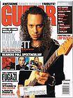 Guitar World Magazine (March 2002) Kirk Hammett / Randy Rhoads / John