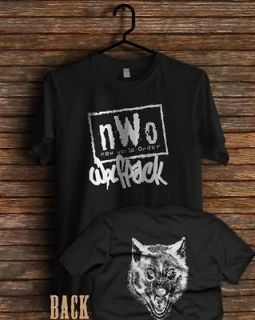 nwo wolfpack wrestling pack wolf wcw classic t shirt