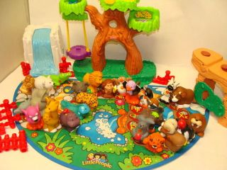 Fisher Price Little People Lot A to Z Zoo Farm Barn Animals Learn ABC