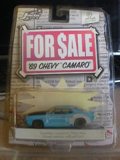 64 For Sale 1969 Chevy Camaro Jada Toys Mi10