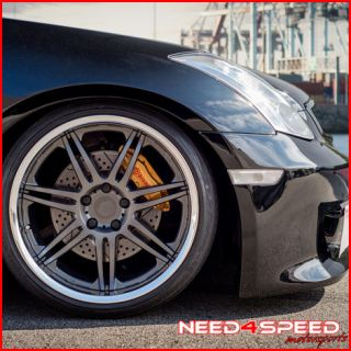 19 NISSAN 350Z AVANT GARDE WORK WHEELS M560 19X11 VIP STAGGERED RIMS