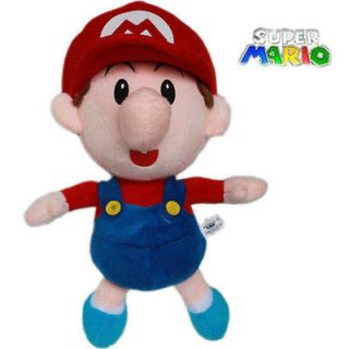 Nintendo Game Super Mario Brothers 22cm Plush Toy Baby Mario Stuffed