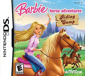 NEW Barbie Horse Adventures Riding Camp (Nintendo DS, 2008)