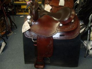 Big Horn Haflinger 16 seat Western pleasure / trail saddle