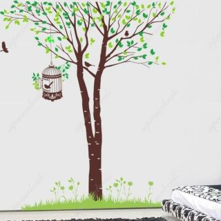 birch tree wall decal in Decals, Stickers & Vinyl Art