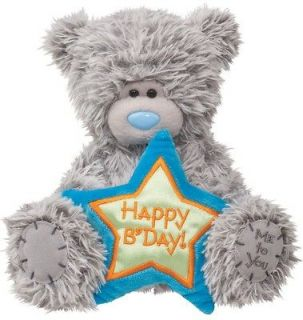 TATTY TEDDY HAPPY BIRTHDAY 6 plush Greeting Card stuffed animal bear