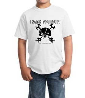 Iron Maiden Final Frontier Junior Kid T Shirt all sz XS XL 5 14 Years
