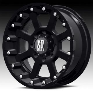 KMC XD black wheels rims 5x5.5 5x139.7 dodge ram 1500 ford bronco