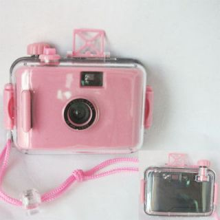 LOMO Underwater Waterproof Mini 35mm Film Camera Pink
