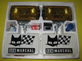 SEV Marchal 850 GT fog lights kit. Ford Bronco, F100, F350, Jeep