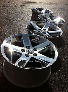 2012 DODGE 1500 RAM laramie HEMi OEM stock FACTORY 20 CHROME WHEELS