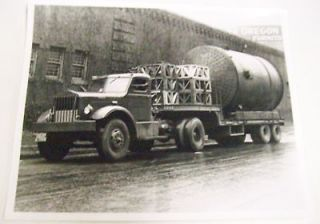 Sterling ca. 1940s Drop Deck Trailer Photo