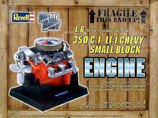 Revell Chevy 350 CID LT 1 Die Cast Engine Model Kit   16 Scale
