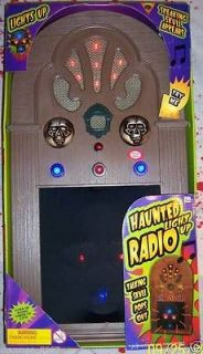 HALLOWEEN HAUNTED OLD ANIMATED FACE RADIO PROP DECORATION PARTY BRAND