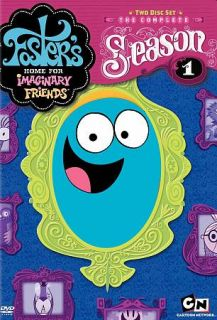 Fosters Home for Imaginary Friends   Season 1 DVD, 2007, 2 Disc Set