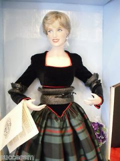 Princess Diana Franklin Mint Princess of Charm Doll Mint In Box with