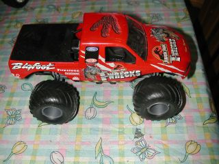 WRECKS BIGFOOT 1/22 ? SCALE NEAR MINT VHTF RARE MONSTER JAM TRUCKS