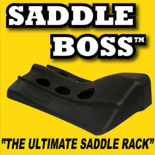 Saddle Racks by Saddle Boss perfect for horse trailer
