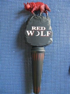 Red Wolf Prestige ​Walking Wolf Handle 11 Be​er NIB Vintage 1995