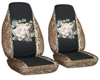 Jeep wrangler 97 06 TJ car seat covers leopard face choose your color