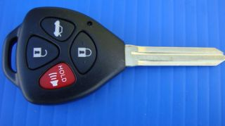 NEW 2007 2010 TOYOTA CAMRY KEYLESS REMOTE ENTRY FOB KEY WITH CHIP