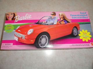 NEW IN BOX Barbie Ford Thunderbird Convertible Car Vehicle 2002 ~ RARE