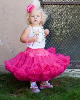Girl Kids Skirt Party Dance Tutu Dress Pettiskirt Ages 1 2Y Beautiful