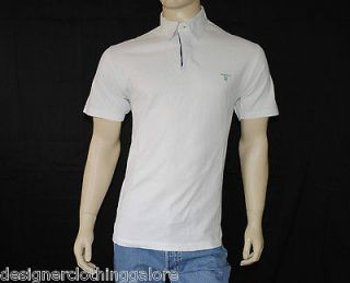 GANT MENS WHITE COTTON POLO SHIRT   SIZE XL‏ (EXTRA LARGE)
