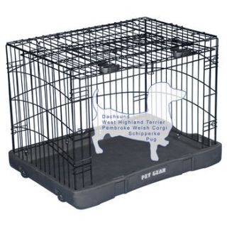 Pet Gear Travel Lite Steel Dog Crate at