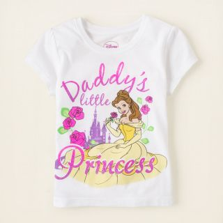baby girl   graphic tees   Princess Belle graphic tee  Childrens