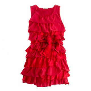 Girls Rosalie twisted dress   party   Girls dresses   J.Crew