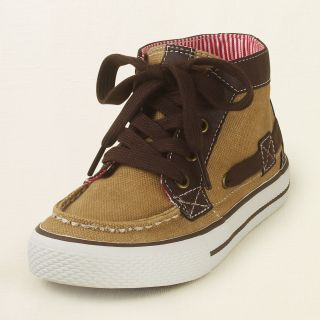 shoes   shoes   mid top boat sneaker  Childrens Clothing  Kids