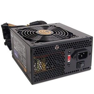Power AK 750W 20+4 pin ATX Power Supply w/SATA & PCIe (Black) AK750