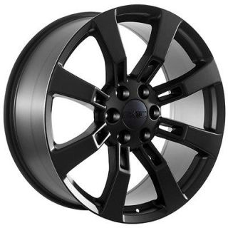 22 inch black wheels rims GMC Yukon 2012 Denali 2012 Sierra trucks
