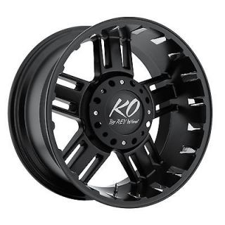 17 Black REV Beast Wheels GMC Chevy Ford Truck SUV f 150 Silverado 6