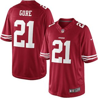 Youth Nike San Francisco 49ers Frank Gore Limited Team Color Jersey (S
