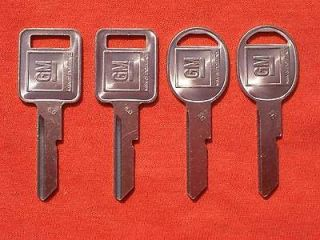 CHEVY BUICK PONTIAC OLDS OEM KEY BLANKS 1969 1973 1977 1981 (Fits