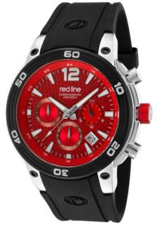 Red Line 50033 55 Watches,Mens Mission Chronograph Red Carbon Fiber