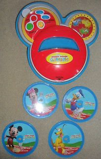 Mickey Mouse Club House Music Cd Player Sing With Me Disney