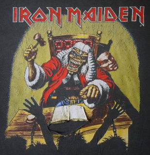 vintage iron maiden shirt in Clothing,