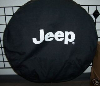 Jeep Wrangler TJ black spare tire COVER oem 82206926AC