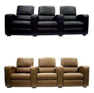 HOME THEATER SEATING RECLINER CHAIR MOVIE SEATS LEATHER LOUNGING SOFA