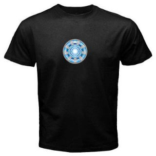 Avengers Arc Reactor Iron Man T Shirt Men Tony Stark Loki Thor Hulk