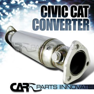 1988 1991 HONDA CIVIC CRX HIGH FLOW CAT CATALYTIC CONVERTER PIPE (Fits