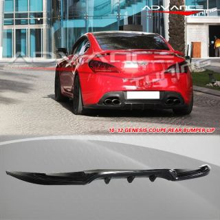 FIT FOR 10 12 HYUNDAI GENESIS COUPE SPORT REAR BUMPER LIP SPOILER PU