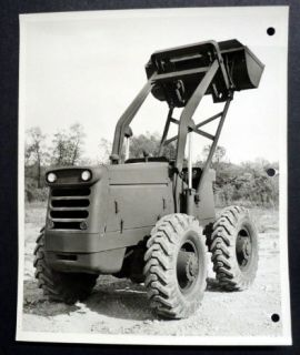 Hough 1961 Model HR Military Front End Loader Tractor Shovel Factory