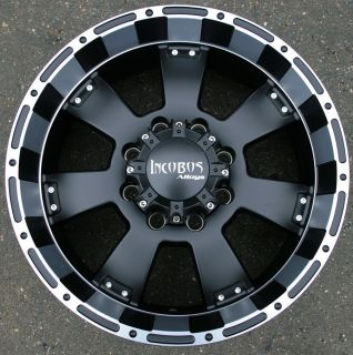 INCUBUS KRAWLER 815 20 BLACK RIMS WHEELS DODGE RAM 2500 8 LUG